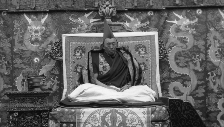 The 13th Dalai Lama Thubten Gyatso in Lhasa, Tibet. (Photo courtesy Colonel Leslie Weir/Tibet Images)
